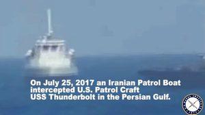 ระทึก! เรือรบสหรัฐฯ ยิงปืนขู่เรือรบอิหร่าน หลังพุ่งเข้าใกล้หวิดชน