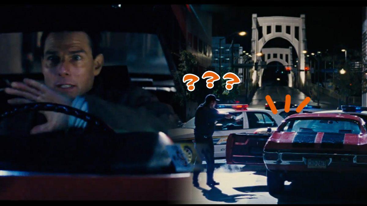 โคตรเก๋า!! ตำรวจดักหน้าหลังยังหนีมาได้