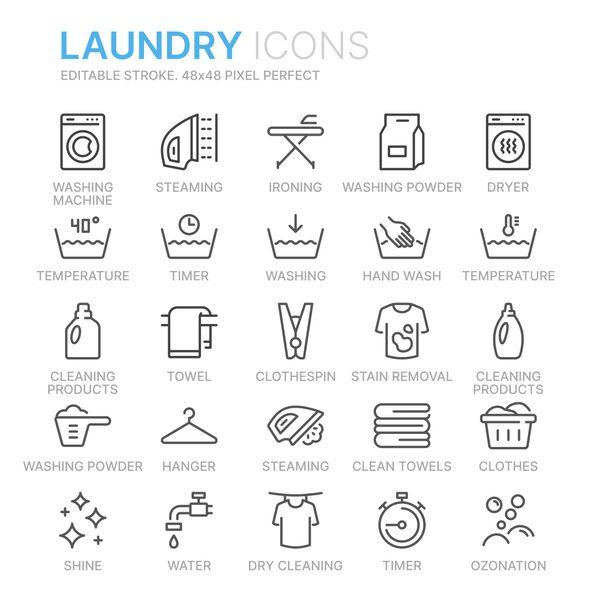 ซักเสื้อผ้า