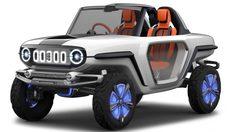 Suzuki เปิดภาพ Suzuki e-Survivor ต้นแบบรถ Off Road แห่งอนาคตอย่างเป็นทางการ