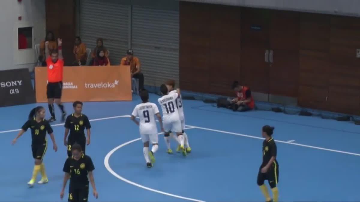 ไฮไลท์ฟุตซอลหญิง ซีเกมส์ 2017 ระหว่าง ทีมชาติไทย 12-0 ทีมชาติมาเลเซีย