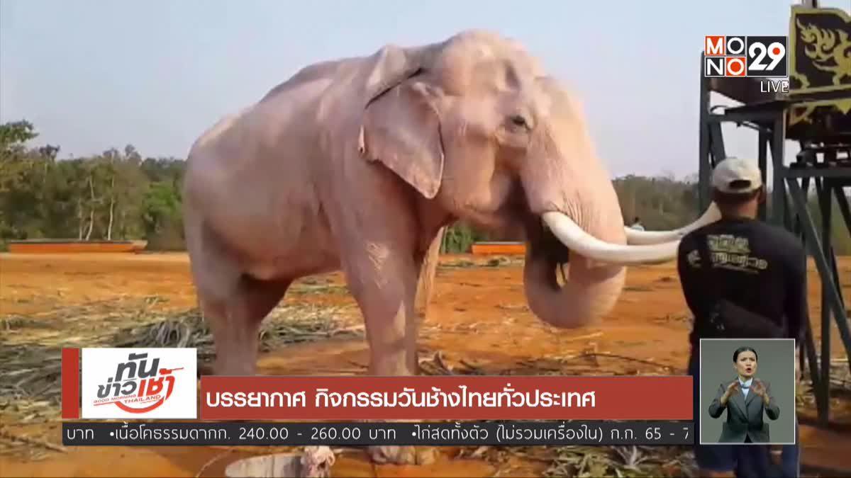 บรรยากาศ กิจกรรมวันช้างไทยทั่วประเทศ