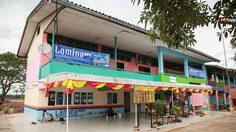 ลามิน่า มอบอาคารเรียนในโครงการ ลามิน่ามินิสานฝัน ปีที่ 8