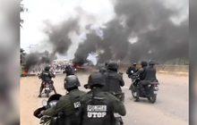 ตำรวจโบลิเวียบุกสลายการชุมนุมปิดถนน
