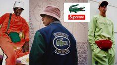 Supreme x Lacoste คอลเลคชั่นต้อนรับฤดูใบไม้ผลิ 2018 ที่สายสตรีทแวร์ทุกคนต้องมี