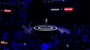 Supreme NYC เผยผ่านสื่อว่า Supreme ที่ร่วมจับมือกับ Samsung เป็น Supreme ปลอม