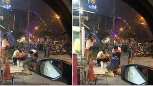 ชื่นชม! หนุ่มโคราชน้ำใจงาม ช่วยซื้ออาหารให้ลุงข้างถนน
