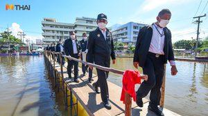 นายกฯ นำทีมรัฐมนตรี ลงพื่นที่ตรวจน้ำท่วมที่ จ.ชัยภูมิ