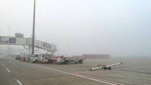 สนามบินเชียงใหม่หมอกจัด หยุดเขตการบินชั่วคราว 8 เที่ยวบินชะงัก