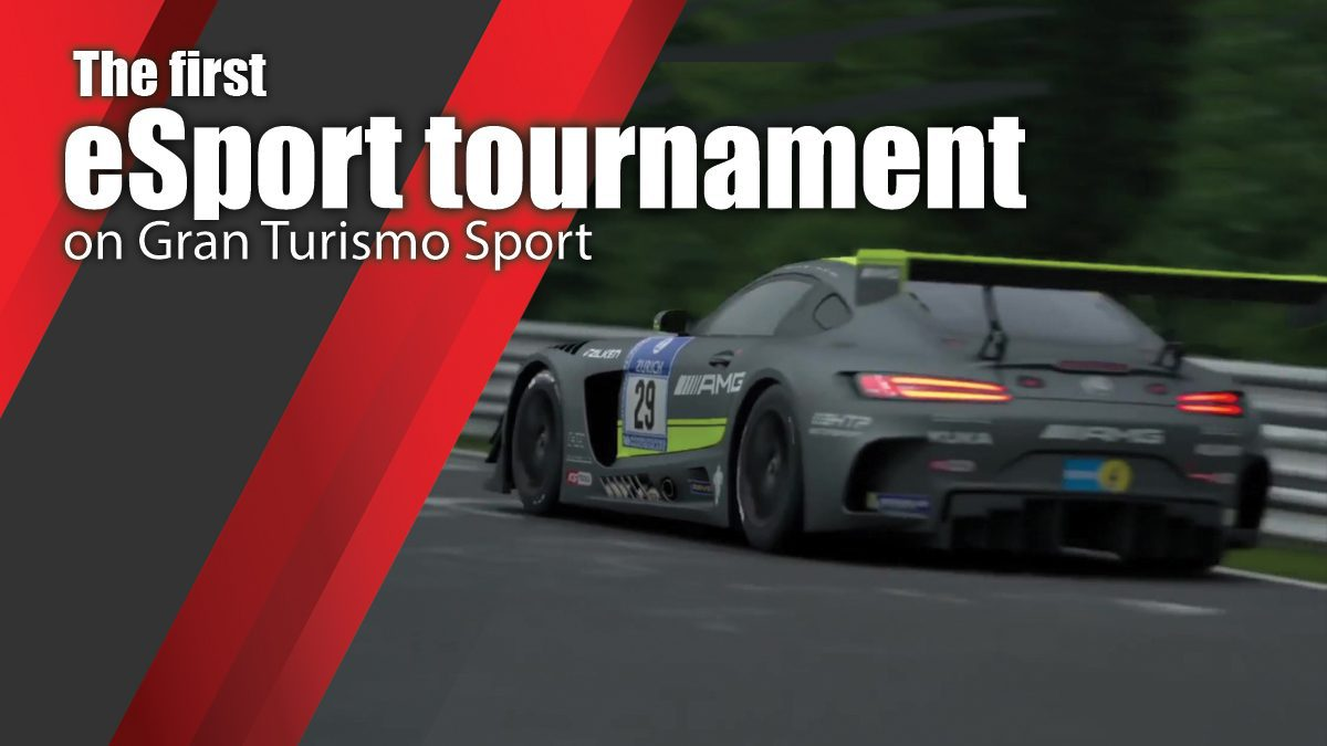 The first eSport tournament on Gran Turismo Sport