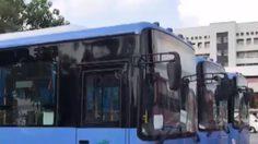 รถเมล์เอ็นจีวีใหม่รองรับ 21 เส้นทาง เปิดให้บริการวันแรก