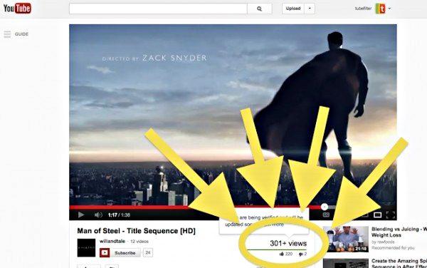 เหตุผลที่ ยอดวิวใน YouTube หยุดแค่ 301 ??