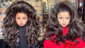 น่ารักสุดๆ! Mia Aflalo นางแบบผมสวย ดาวรุ่งพุ่งแรง วัย 5 ขวบ จนหลายคนต้องอิจฉา