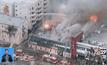 ไฟไหม้ตึกสำนักงานใจกลางนครลอสแองเจลีส