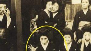ภาพถ่ายจริง สาวญี่ปุ่นยุคโบราณถ่ายรูปแอ๊บแบ๊ว
