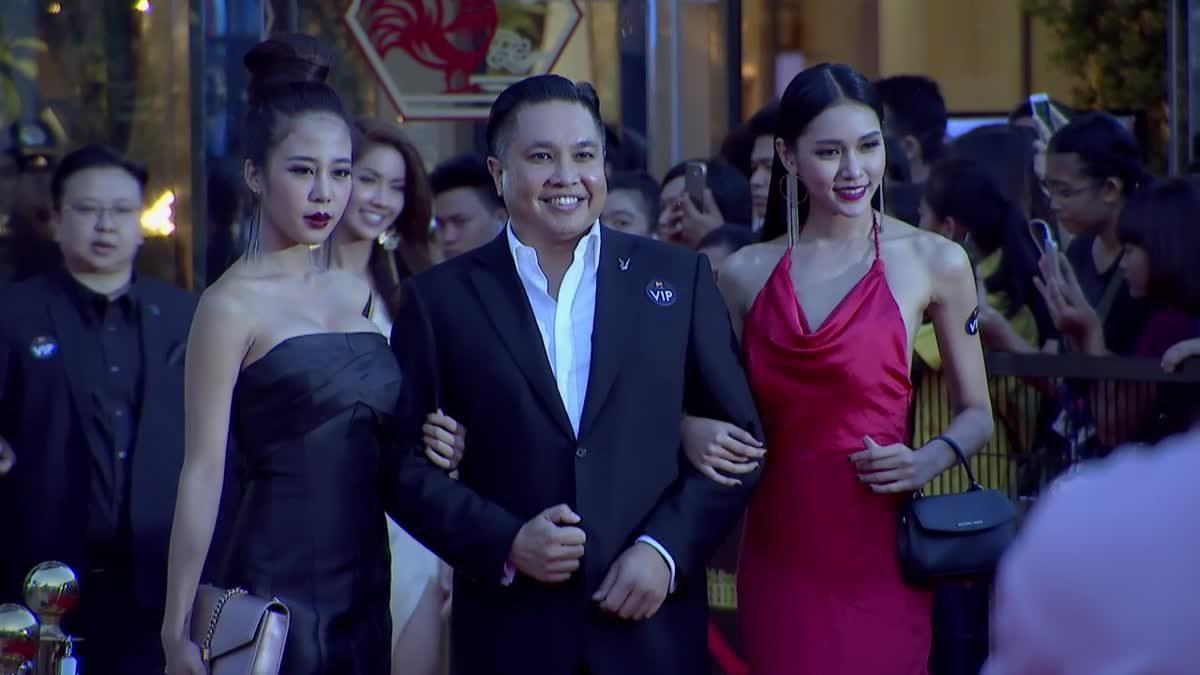 สาวๆ Playboy Thailand เดินพรมแดง ในงานประกาศผลรางวัล MThai Top Talk-About 2017