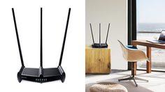TP-Link ส่ง 450Mbps ไวเลสเราเตอร์ ส่งสัญญาณคลอบคลุมบ้าน 3 ชั้น