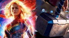 บรี ลาร์สัน เผย Captain Marvel สามารถยกค้อนโยเนียร์ของธอร์ได้