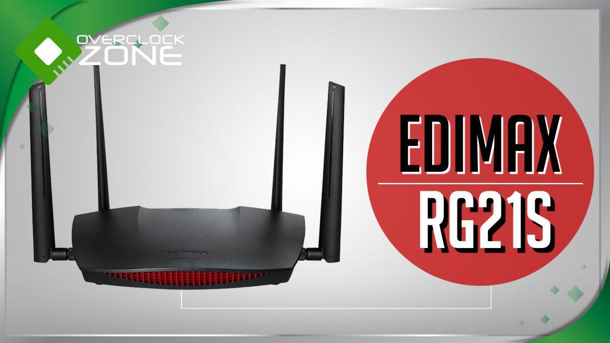รีวิว EDiMAX RG21S : AC2600 MU-MIMO Router
