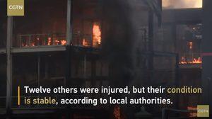 เกิดเหตุระเบิดโรงงานเคมีในจีน ไฟไหม้วอด เสียชีวิต 19 ศพ