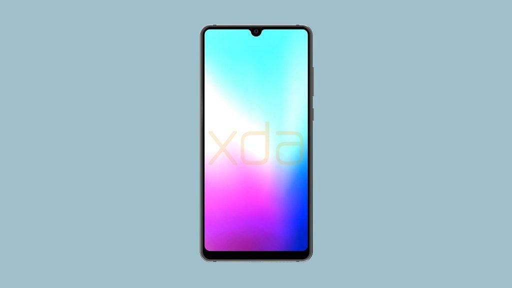 ด้านหน้าของ Huawei Mate 20