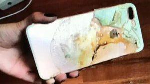 iPhone 7 Plus ของหญิงชาวจีนเกิดไฟลุกใหม้ขึ้น ขณะที่นอนหลับอบู่บนเตียง