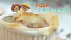 อร่อยมีประโยชน์กับเมนู Pizza Mix Cupcake