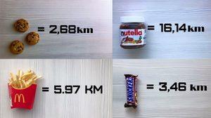 เย็บปากกันเลยดีกว่า!! 10 ตัวอย่างอาหารกับระยะทางในการวิ่งเผาผลาญ