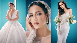 """เทรนด์ใหม่! ชุดแต่งงานสไตล์ฝรั่งเศส """"Aura on light"""" ความงดงามของผู้หญิงที่กำลังจะแต่งงาน"""