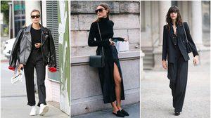 All-Black Outfit! มิกซ์แอนด์แมทช์ แต่งสีดำทั้งตัว ยังไงให้เท่คูลสุดๆ