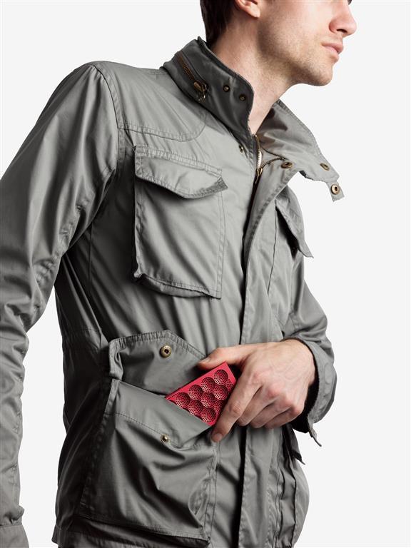 HIGH Res, MINIJambox, Moadel Cargo Jacket Red MINI (Medium)