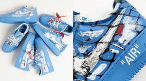 Off-White x Nike Air Force 1 MCA Chicago รุ่นคัสต้อมที่ผลิตเพียง 20 คู่ทั่วโลก!!