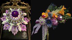 หัวเข็มขัดสตรีผู้สูงศักดิ์ แรงบันดาลใจ ช่อดอกไม้ มิสยูนิเวิร์สไทยแลนด์ 2019