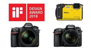 Nikon D850, D7500 และ Nikon COOLPIX W300 คว้าสุดยอดรางวัล iF Product Design Awards ประจำปี 2018