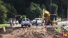 ถนนเชียงใหม่-เชียงราย ที่ถูกน้ำป่ากัดเซาะเปิดใช้งานแล้วเช้านี้