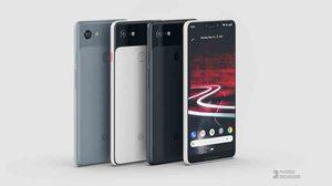 ชมภาพดีไซน์ใหม่!! Google Pixel 3 XL มาครบทุกเฉดสี