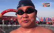 การแข่งขันว่ายน้ำแข็งในจีน