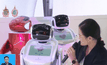 หุ่นยนต์ผู้ช่วยจากบริษัทในจีน