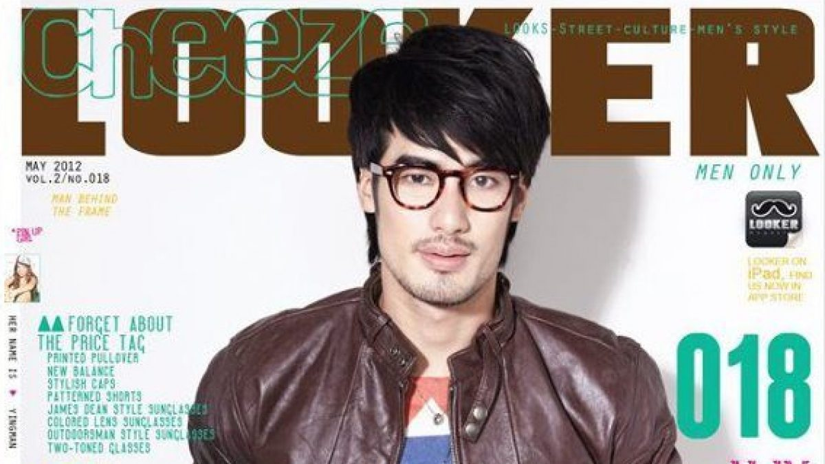 LOOKER018 behind the cover with BOY PAKORN