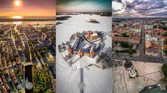 """19 ภาพมุมสูง """"ลิทัวเนีย"""" ประเทศเล็กๆ ที่เห็นแล้วอยากเก็บกระเป๋าออกเดินทาง"""