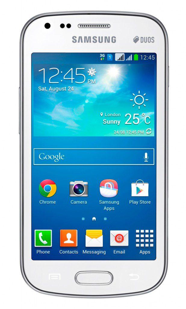 Samsung Galaxy S Duos 3 White