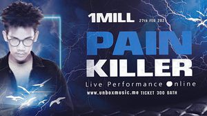 แร็พสตาร์ดาวรุ่ง! 1Mill ลุยคอนเสิร์ตออนไลน์ 1MILL Pain Killer Live Performance online