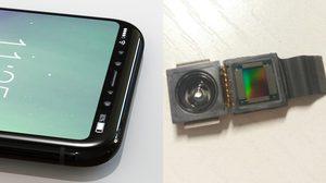หลุดเต็มๆ ภาพชิ้นส่วน เซ็นเซอร์ 3D สำหรับกล้อง iPhone 8