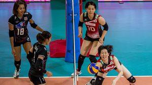 พ่ายแบบสู้ได้! ทีมตบสาวไทย ประเดิมแพ้ ญี่ปุ่น สูสี 2-3 เซต เวิลด์ กรังปรีซ์ 2017