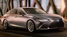 Lexus ES 2018 ดีไซน์ใหม่ โฉบเฉี่ยวกว่าเดิม พร้อมเปิดตัว 25 เมษายน นี้
