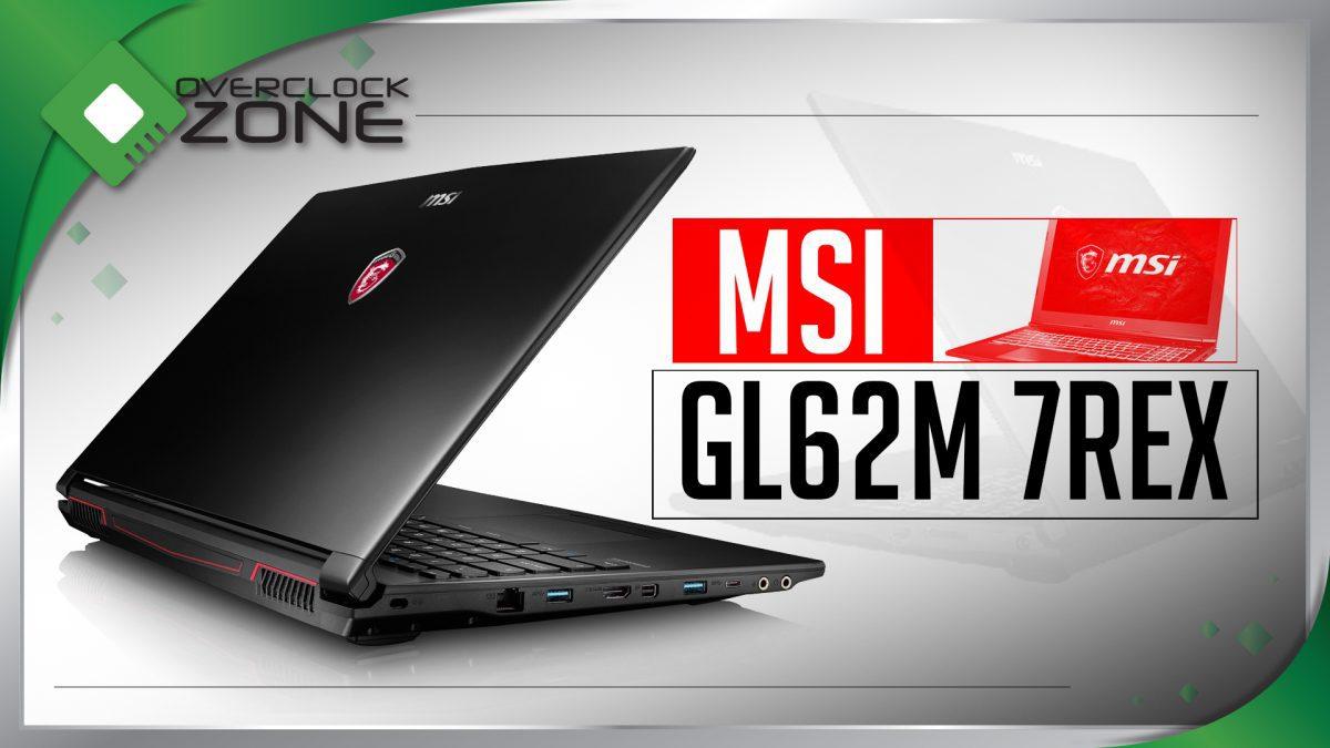 รีวิว MSI GL62M 7REX : i7-7700HQ + GTX1050Ti Gaming Notebook