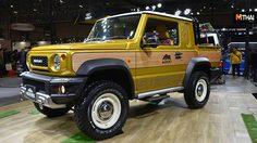 Suzuki Jimmy 2019 ใหม่ เวอร์ชั่น กระบะต้นแบบ แต่งพิเศษ