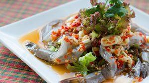 สูตร กุ้งแช่น้ำปลา กับแกล้มแซ่บสะท้าน รสชาติจัดจ้าน