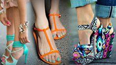 แมทช์คู่สีให้สนุกกว่าเคย สีเล็บเท้า จับคู่ สีรองเท้า แบบไหนยิ่งส่งให้สวยเด่นขึ้นไปอีก