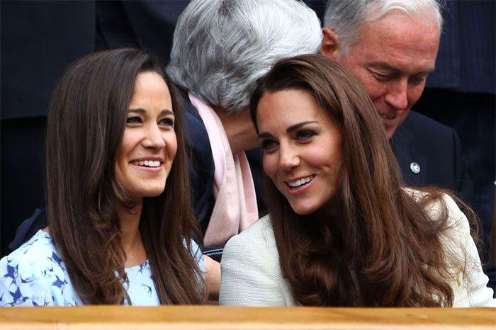 Kate Middleton กับน้องสาว Pippa